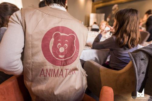 animateur pour enfants au repas de baptême