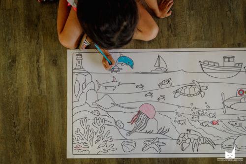 journée des familles dessin